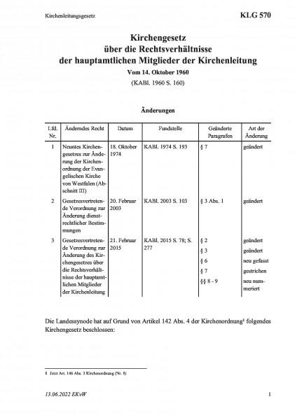 570 Kirchenleitungsgesetz