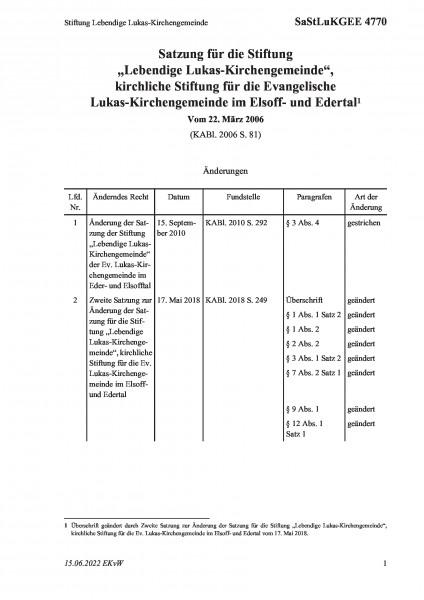 4770 Stiftung Lebendige Lukas-Kirchengemeinde