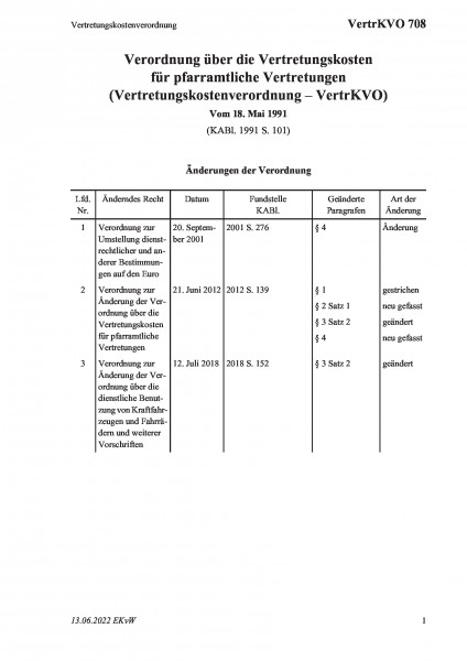 708 Vertretungskostenverordnung