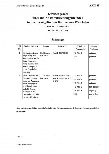 53 Anstaltskirchengemeindengesetz