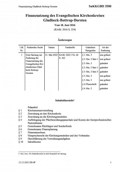 3500 Finanzsatzung Gladbeck-Bottrop-Dorsten