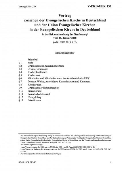152 Vertrag EKD-UEK