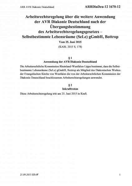 1670-12 ARR AVR Diakonie Deutschland